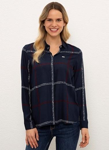 U.S. Polo Assn. U.S. Polo Assn. Comfort Fit Lacivert Gömlek Lacivert